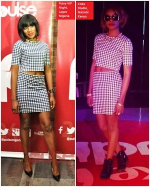Seyi Shay Re- Rocks Outfit, Still Looks Stunning
